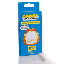 Garfield Cat Fountain Replacement Oral Care Kit