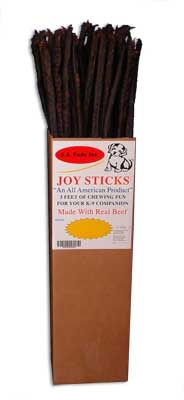 Joy Sticks 3' Chews - 80 Piece Display
