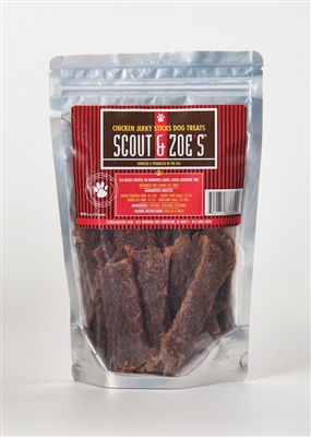 Beef Jerky Sticks Dog Treats ....ONLY 3 PACKAGES LEFT!