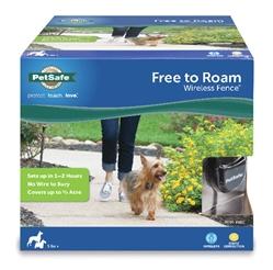 Free to Roam Wireless Fence™