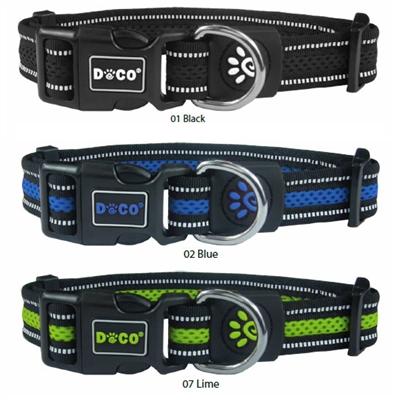 DOCO® Athletica Air Mesh Collar Reflective