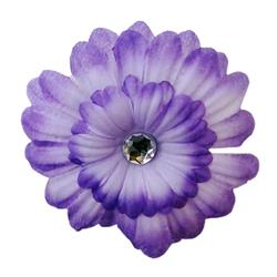 Silk Flower Pansy Purple by Huxley & Kent