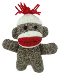 Lulubelles Power Plush - Kiki Sock Monkey Baby