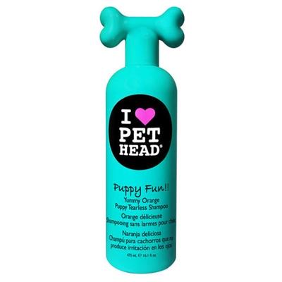 Pet Head Puppy Fun!! Tearless Shampoo - 16.1 oz Orange