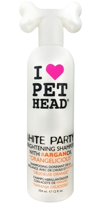 Pet Head White Party Brightening Shampoo - 12 oz Orangelicious