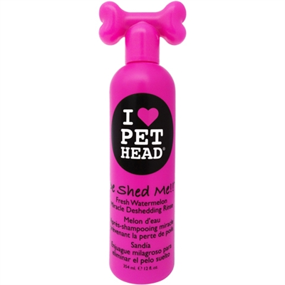 Pet Head De Shed Me!! Rinse - 12oz Watermelon