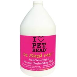 Pet Head De Shed Me Rinse - 1 gal Watermelon w/pump