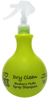 Pet Head Dry Clean Spray Shampoo - 15.2 oz Blueberry Muffin