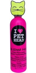 Pet Head Cat De Shed Me Rinse - 12 oz  Watermelon