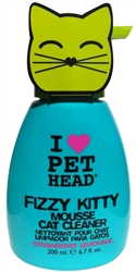Pet Head Fizzy Kitty Mousse Cleaner - 6 oz  Strawberry Lemonade