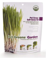 Bell Rock Growers Pet Greens Garden Self-Grow Wheatgrass Kit