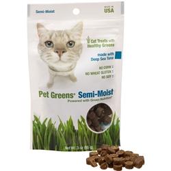 Bell Rock Growers Pet Greens Semi Moist Cat Treat Tuna 3oz