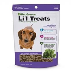 Bell Rock Growers Semi Moist Li'l Tasty Lamb  Dog Treats 6oz