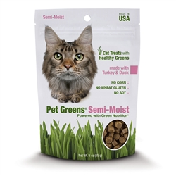 Bell Rock Treat Cat Semi moist Turkey & Duck 3oz