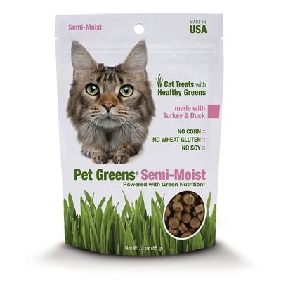 Bell Rock Treat Cat Semi moist Turkey & Duck 3oz