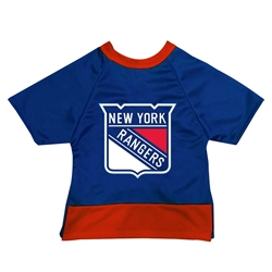 New York Rangers Dog Jersey