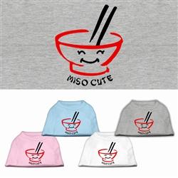 Miso Cute Screen Print Shirt