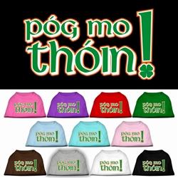 Pog Mo Thoin Screen Print Pet Shirt