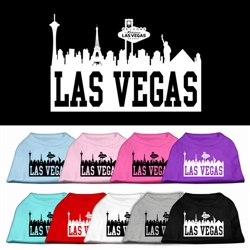 Las Vegas Skyline Screen Print Shirt