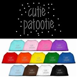 Cutie Patootie Rhinestone Shirt