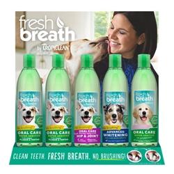Fresh Breath Water Additive Display - 15pc