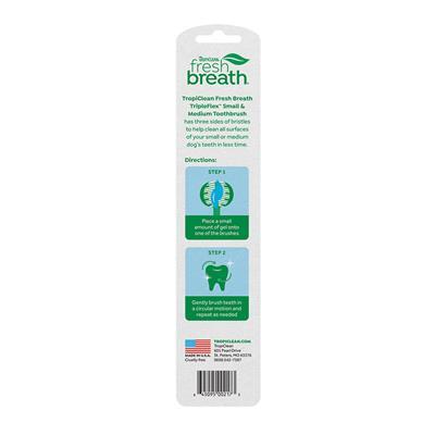 Fresh Breath Triple Flex Toothbrush for Dogs