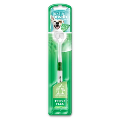 Fresh Breath Triple Flex Toothbrush For Dogs