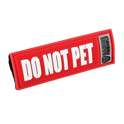 Bark Notes-Do Not Pet-Red