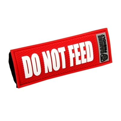 Bark Notes-Do Not Feed-Red