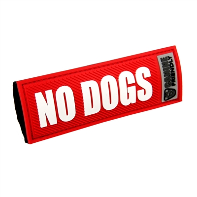 Bark Notes-No Dogs-Red