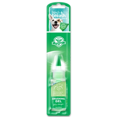 Fresh Breath Brushing Gel For Dogs - 2oz