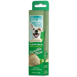 Fresh Breath Clean Teeth Oral Care Gel Vanilla Mint - 2oz