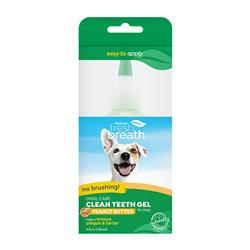 Fresh Breath No Brushing Peanut Butter Flavor Clean Teeth Dental & Oral Care Gel for Dogs