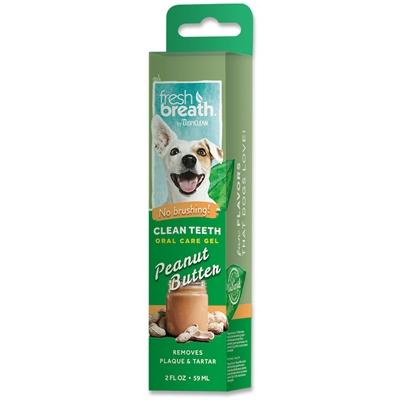 Fresh Breath Clean Teeth Oral Care Gel Peanut Butter
