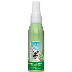 Fresh Breath Vanilla Mint Oral Care Spray - 4oz