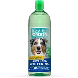 Fresh Breath Advanced Whitening Oral Care Water Additive - 33oz