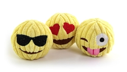 Emoji Tuff Ball Toy - 3 Pack