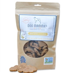 Oven Baked Berry Banana Coco Chunk from Dog Mamma's