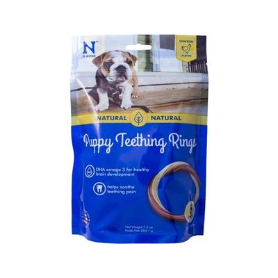 N-Bone Puppy Teething Ring - Chicken