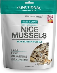 The Honest Kitchen Dog Freeze Dried Mussels 2 oz.