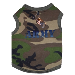 ARMY Tank w/Dog Tag