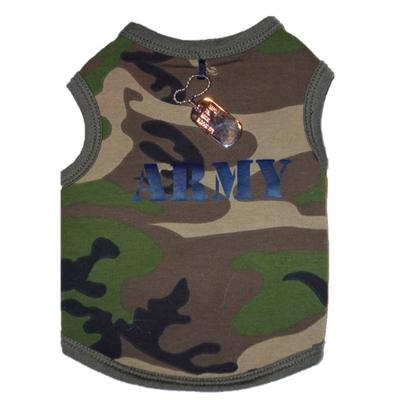 ARMY Tank w/Dog Tag