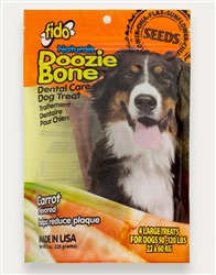 Carrot Doosie Bones - Large 4 Pack