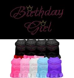 Birthday Girl Rhinestone Dresses