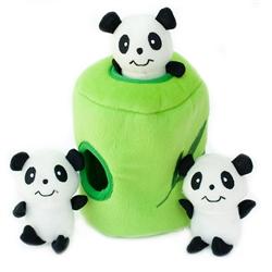 Panda 'n Bamboo Burrow by Zippy Paws