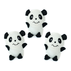 Zippy Paws - Zippy Miniz 3 Pack - Pandas