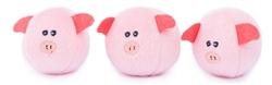 3 Pack Miniz Bubble Babiez Pigsby Zippy Paws
