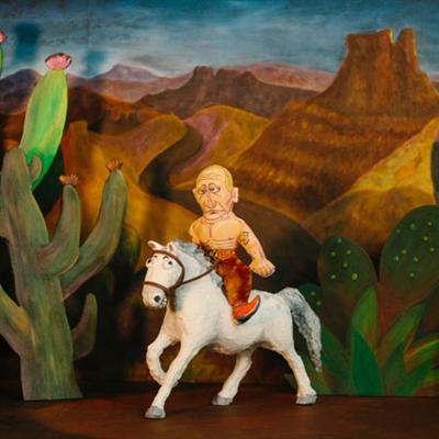 "Rooting' Tootin' Putin Dog Toy - 17"" Presidential Parody"