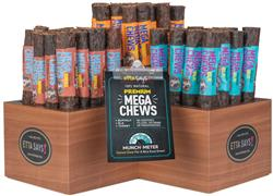 Mega Chew Starter Kit - Display & 54 Chews