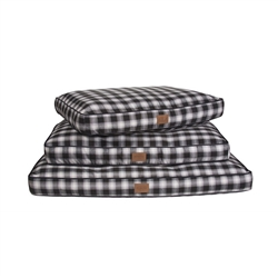 CHARCOAL OMBRE PLAID PET NAPPER
